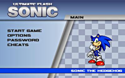 Ultimate Flash Sonic - Jeu de Plateforme sur PC