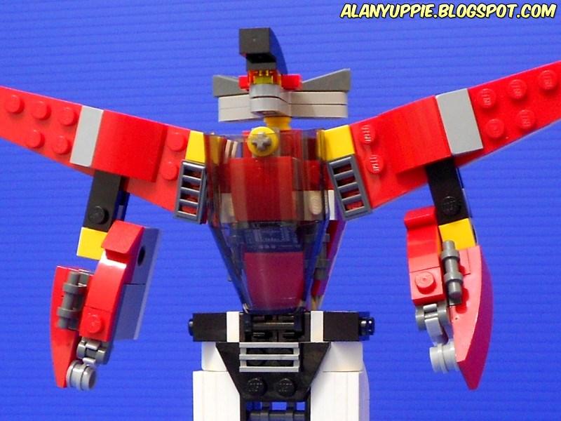 Alanyuppies Lego Transformers Creator 31047 Alternate Moc Robot