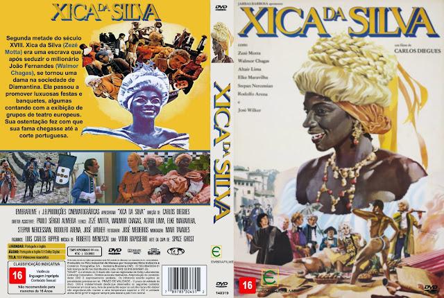 Capa DVD Xica Da Silva
