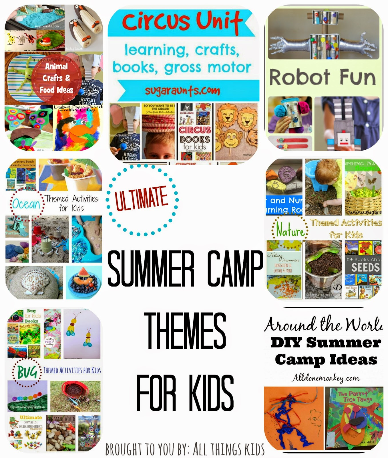 All Things Kids Summer Camp Themes For Kids
