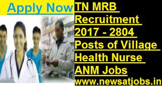 TNMRB-2804-post-of-Village-Health-Nurse-ANM-vacancies