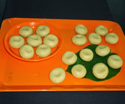 peda in a tray