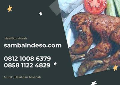 harga Pesan Nasi Box Ayam Bakar Tangerang Selatan