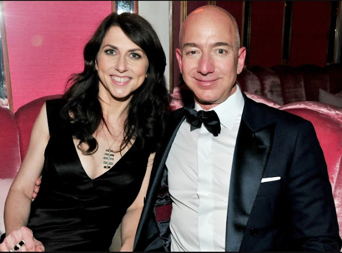 MacKenzie Bezos set to become the world's fourth-wealthiest woman after getting $32billion from her divorce from Jeff Bezos