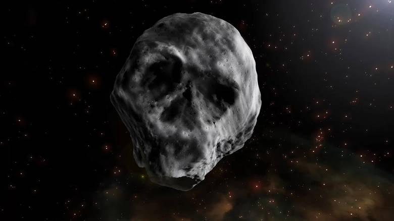 Αστεροειδής σε σχήμα... νεκροκεφαλής «απειλεί» τη γη; Ο ρεαλισμός νικά τα social media