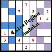 Extra Region Sudoku Puzzles