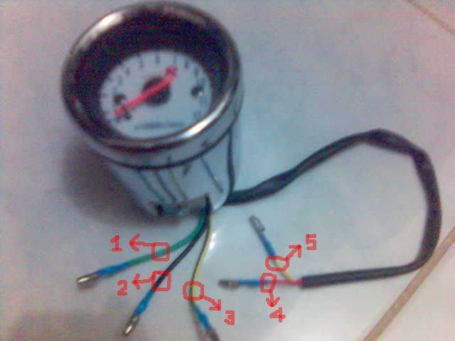 motorcycle tachometer wiring diagram tach help | it is the ride yamaha 150 outboard tachometer wiring diagram #5