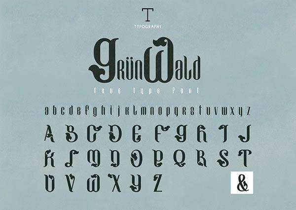 font, font indir, günün fontu, bedava font indir, ücretsiz font indir, kaliteli font indir, grunwald font indir,
