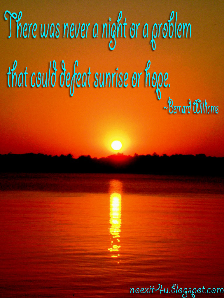 SUNRISE QUOTES WALLPAPER HD ~ noexit4u.com
