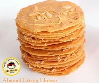 Cara Membuat Almond Crispy Cheese