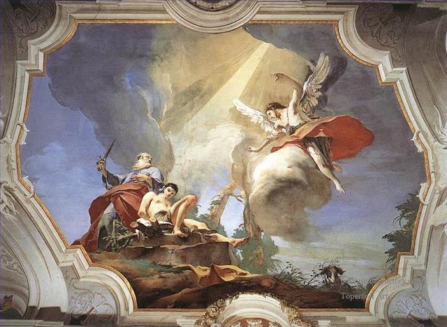 Venise Giovanni battista Tiepolo : 1696-1770 Le sacrifice d'Isaac Plais des Doges