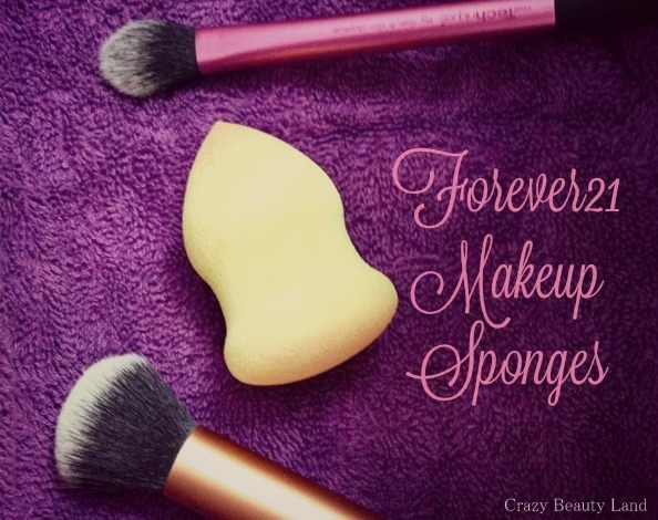 Forever 21 Love & Beauty Makeup Sponges Beauty Blender dupes