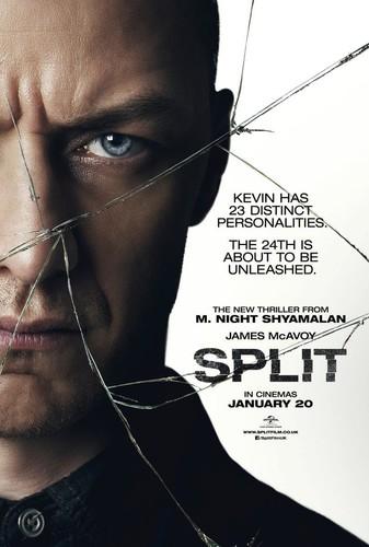 Split (Fragmentado) (2016) [BRrip 1080p] [Latino] [Thriller]