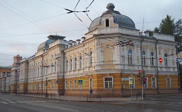 Иркутск, улица Ленина (Irkutsk, Lenin Street)