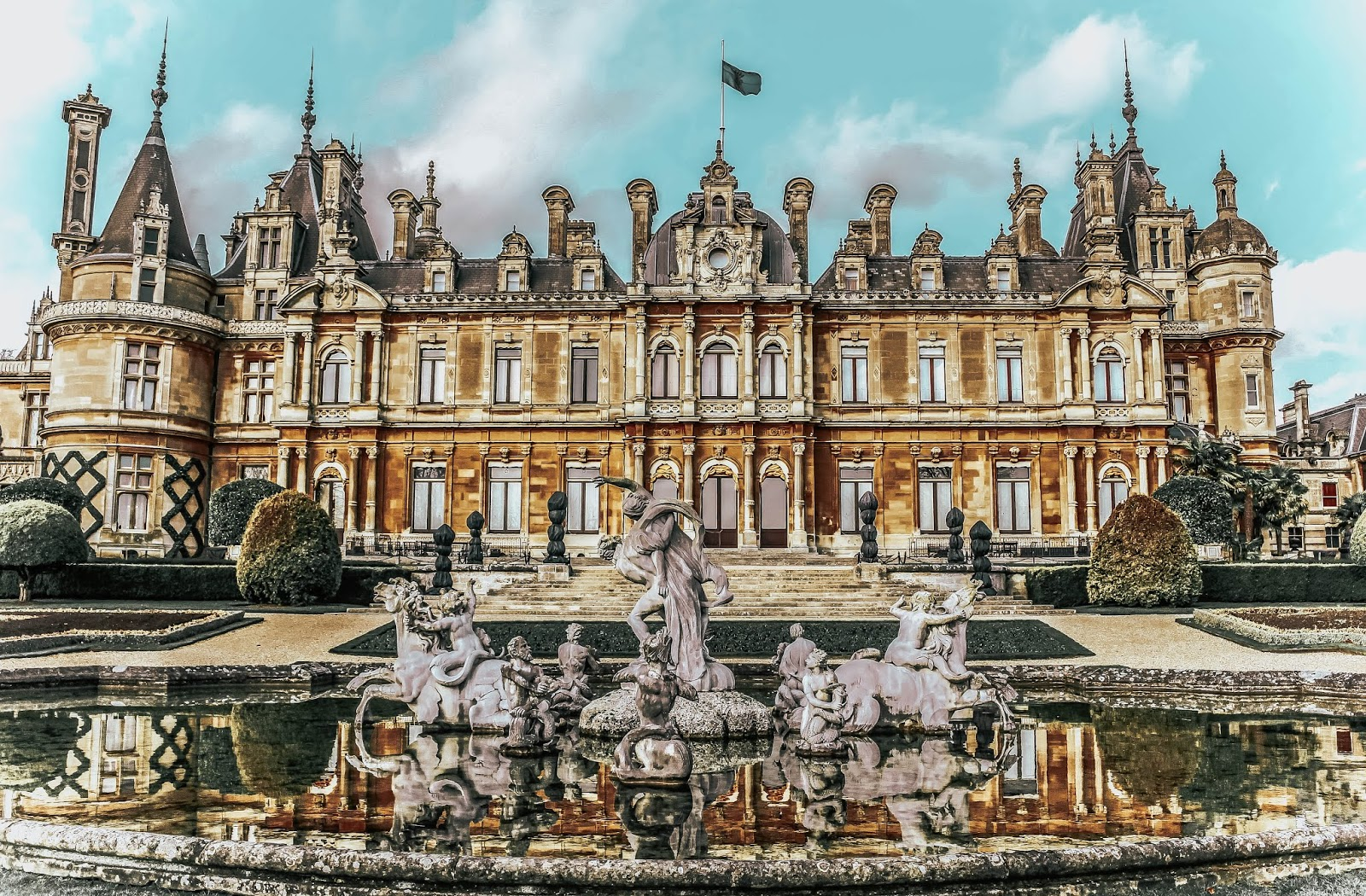 Travel Photography Waddesdon Manor Autumn