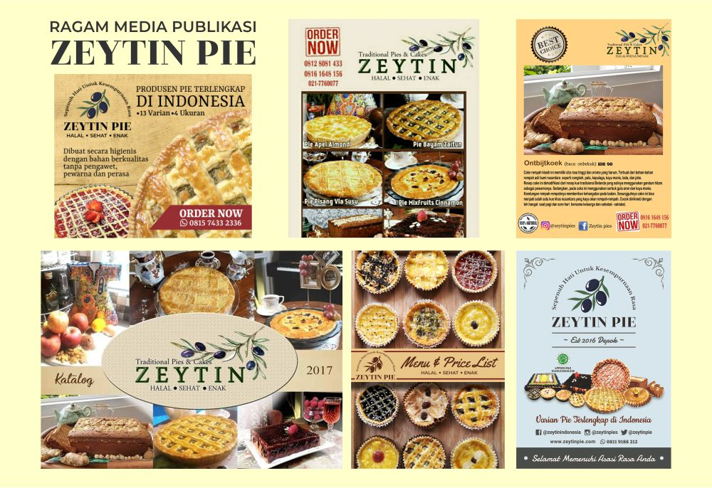 Ragam media publikasi Zeytin Pie