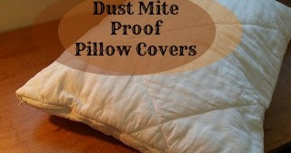 hill house homestead my recycled reused dust mite proof pillow cover