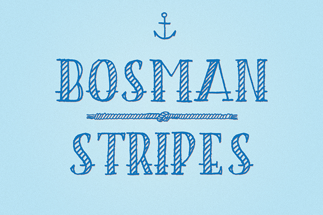 Bosman Stripes par CABAJ