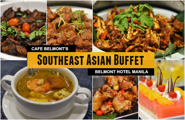 Southeast Asian Dinner Buffet at Cafe Belmont Manila
