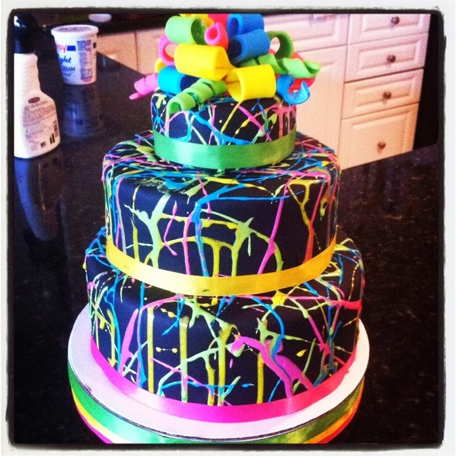 glow in the dark cake like a rock the details shipwrecked on fabulous 4514