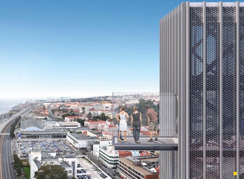 Pilar 7 Lizbona punkt widokowy