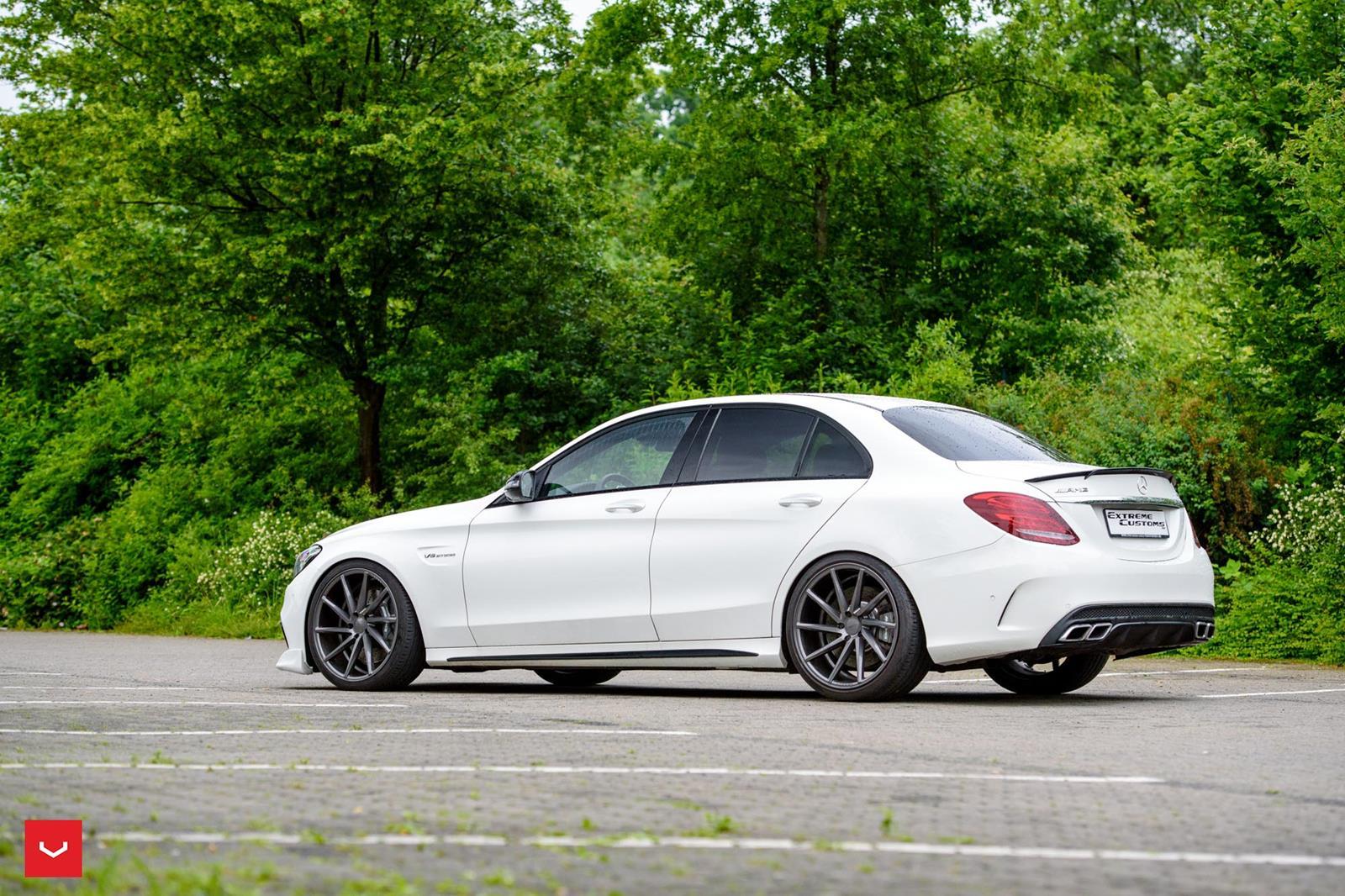 Mercedes Amg W205 C 63 Vossen Cvt Benztuning