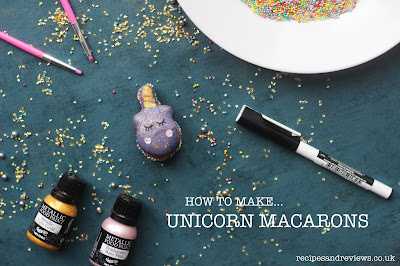 Unicorn macarons Pinterest