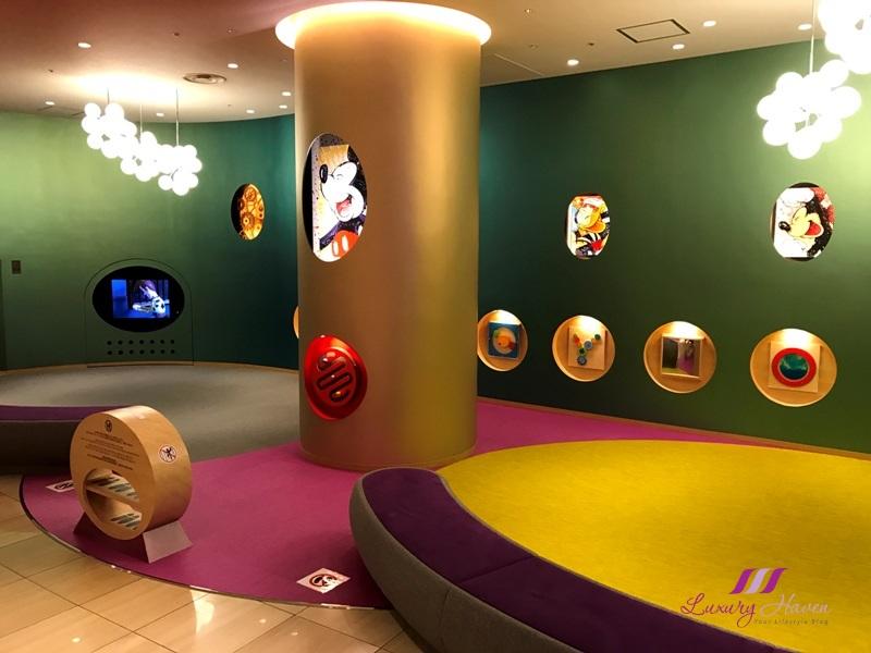 hilton tokyo bay lobby disney children playground