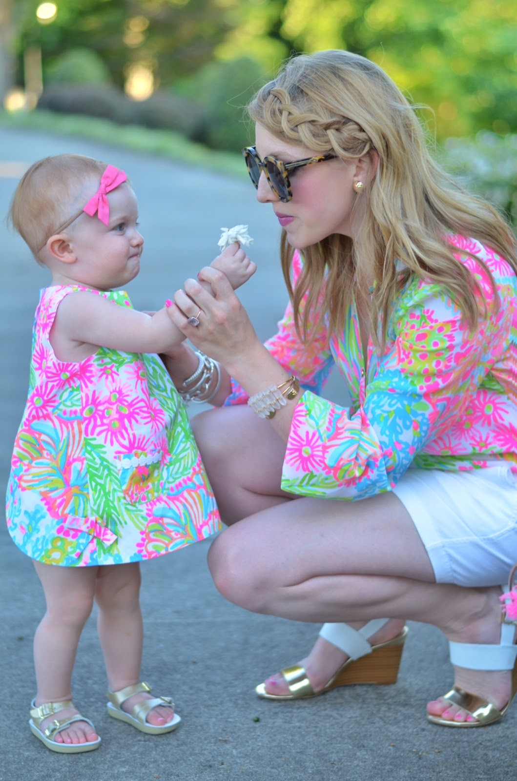Mother & Daughter in Lilly Pulitzer