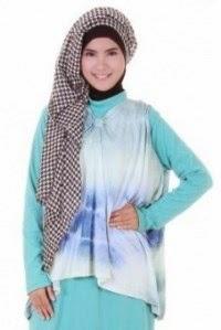 Contoh model baju muslim remaja puteri terbaru