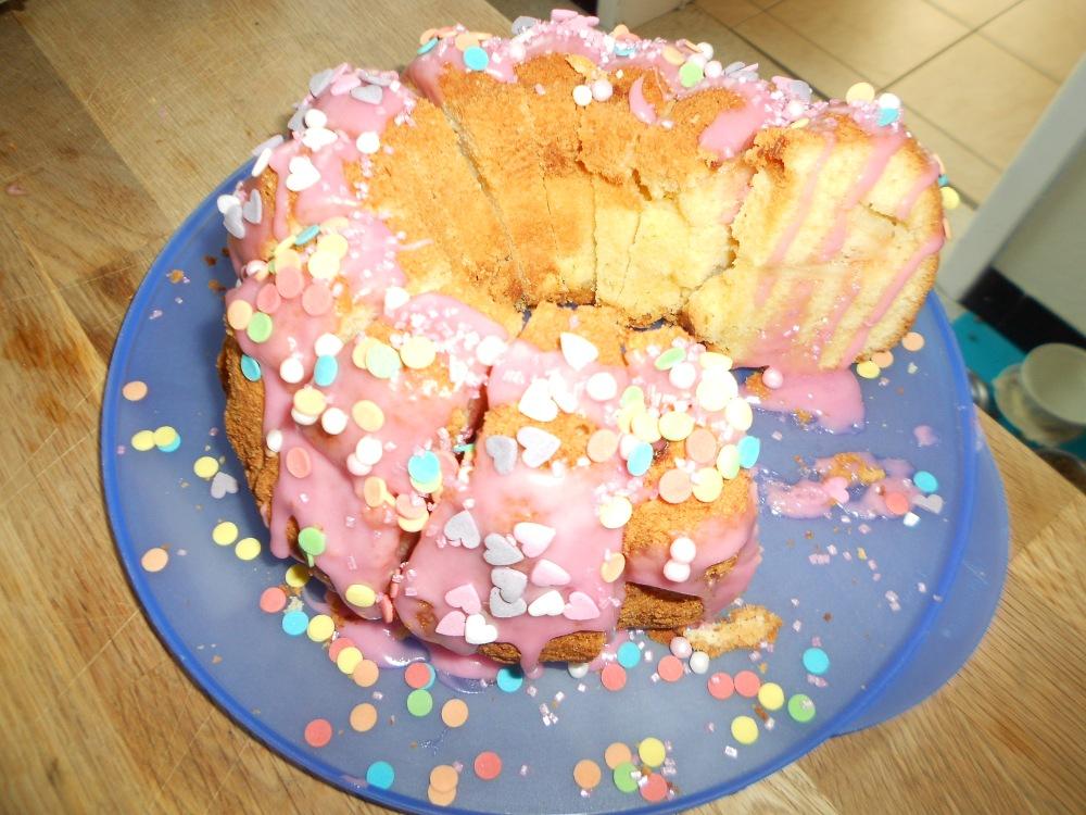 cake huisjes traktaties
