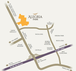 Lokasi Alegria Park