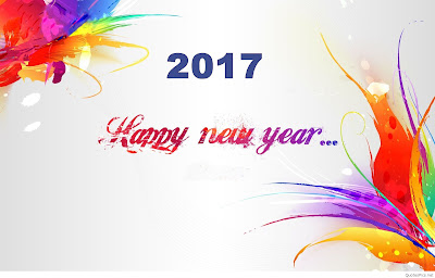 Happy New Year Wallpaper 2017 Santabanta