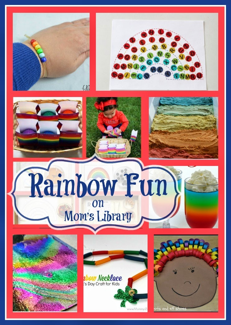 Rainbow Fun on Mom's Library