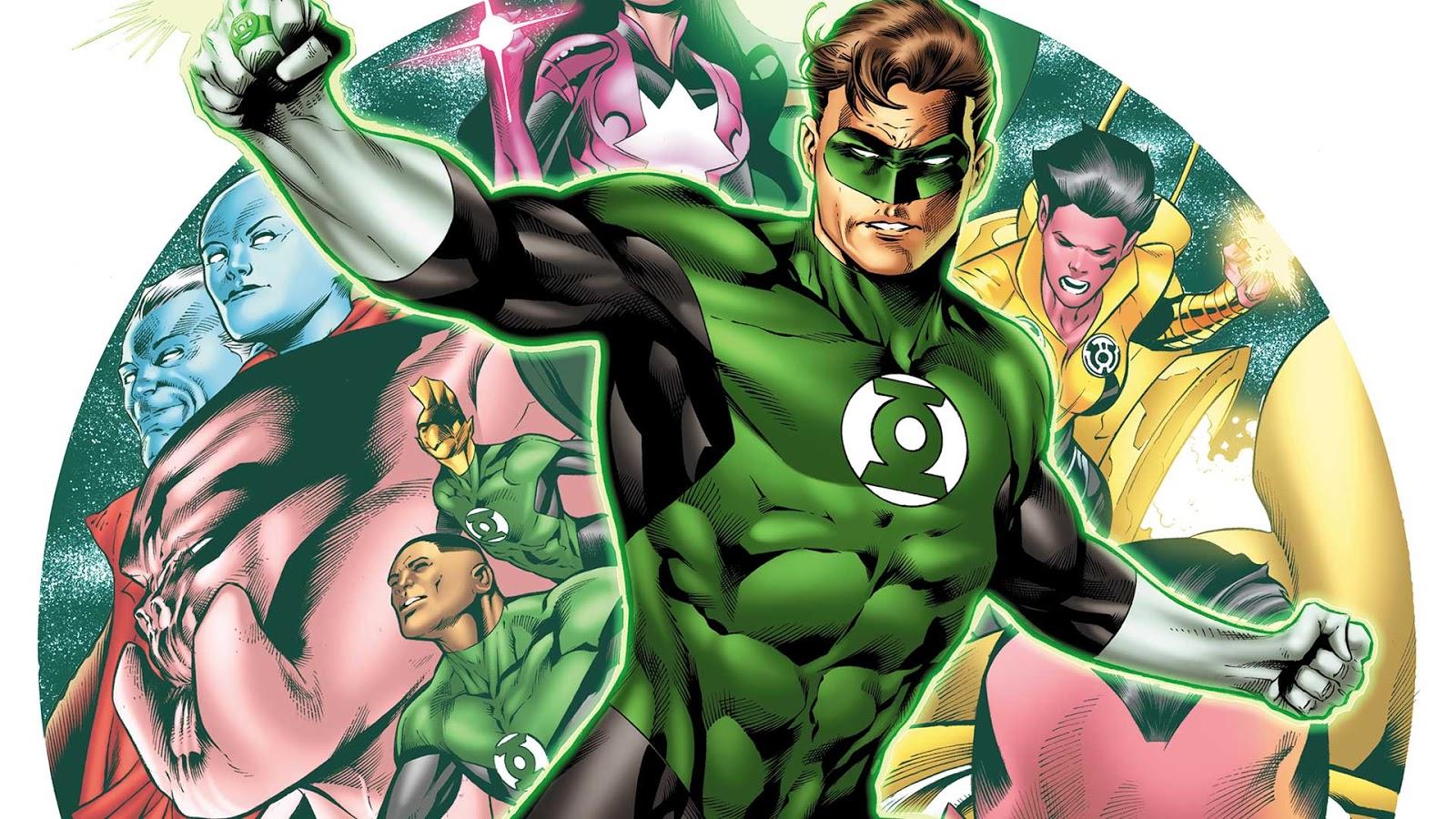 Green Lantern Comic Wallpaper: Weird Science DC Comics: Hal Jordan And The Green Lantern