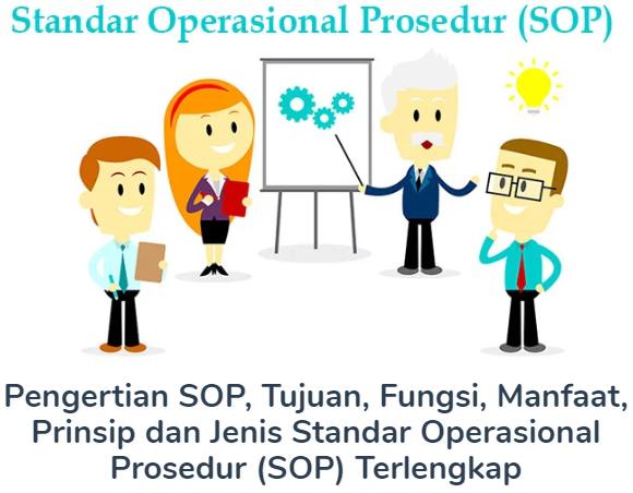 Pengertian SOP, Tujuan, Fungsi, Manfaat, Prinsip dan Jenis Standar Operasional Prosedur (SOP) Terlengkap