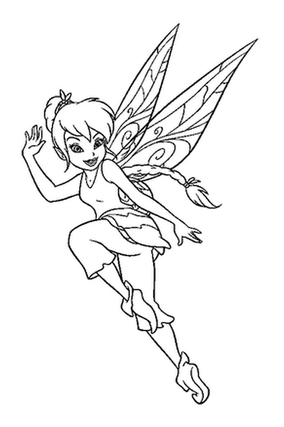 cartoon fairies coloring pages. Black Bedroom Furniture Sets. Home Design Ideas