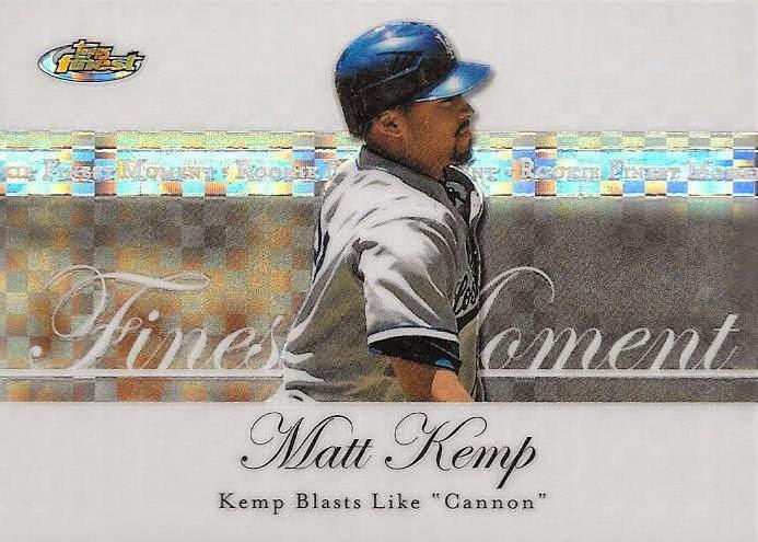 Matt Kemp Heath Totten 2005 05 Topps Total Rookie Card