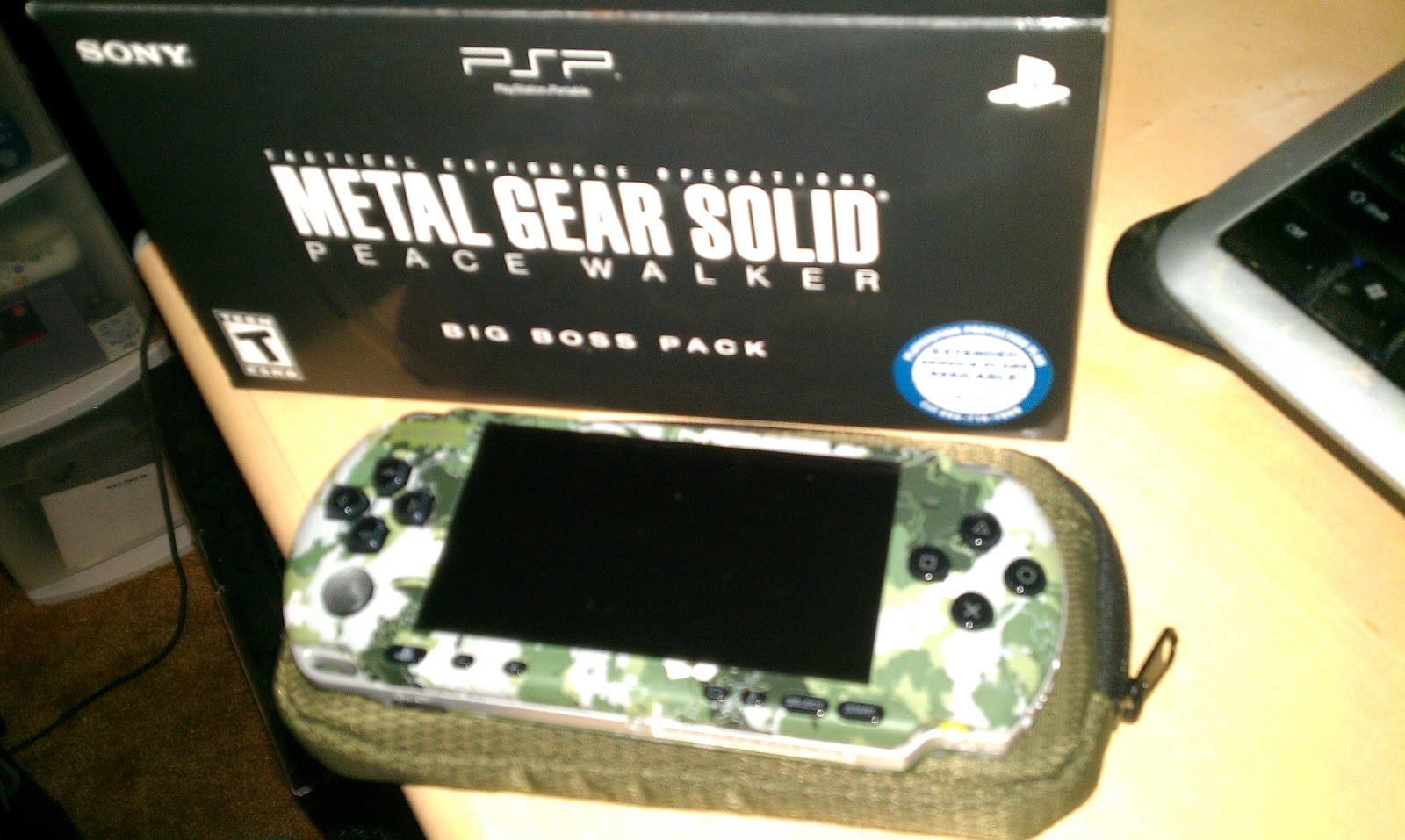 Dave likes video games : Collection Spotlight: Big Boss PSP