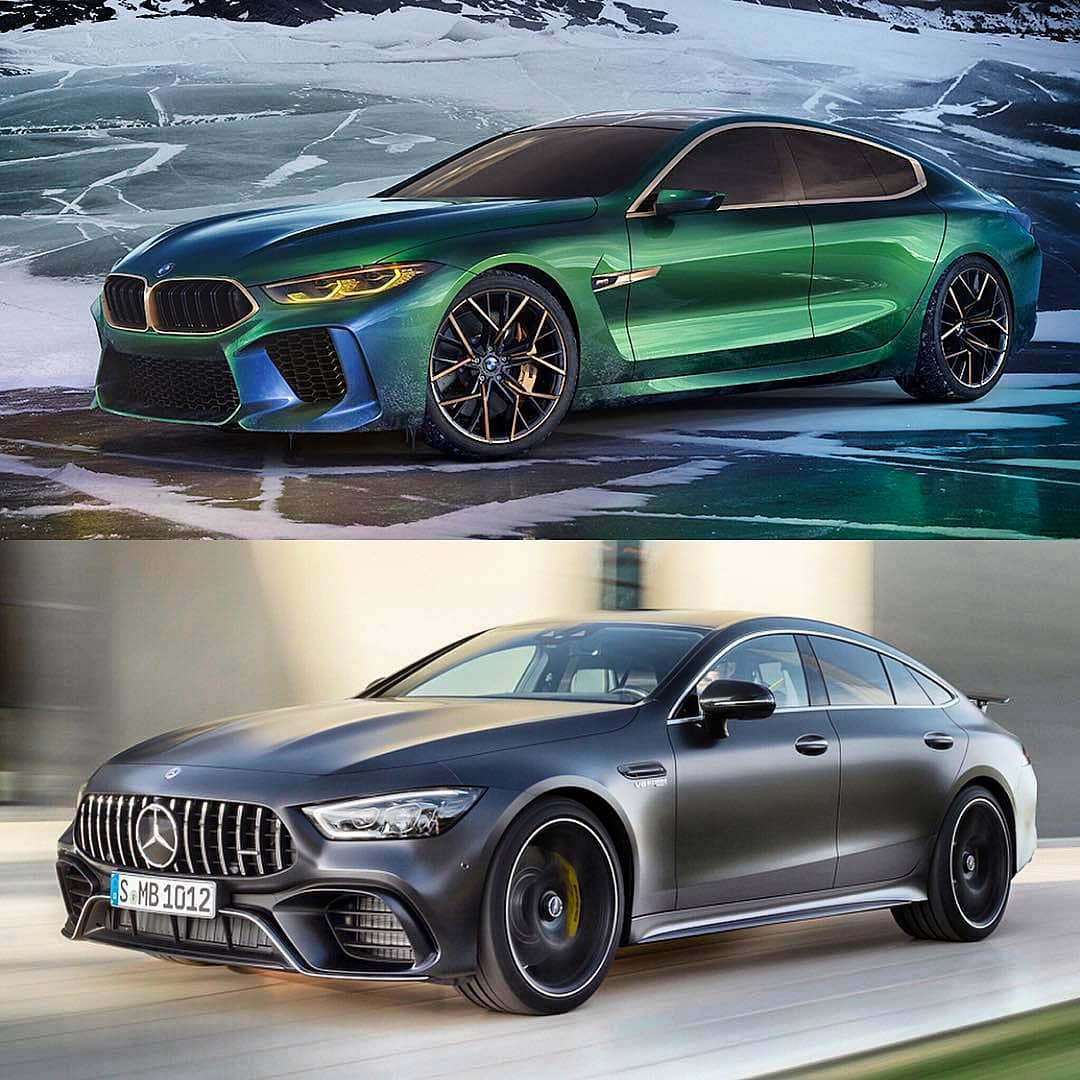 bmw m8 gran coupe vs mercedes benz gt 63 s nalucool. Black Bedroom Furniture Sets. Home Design Ideas