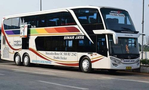 Bus Tingkat Sinar jaya