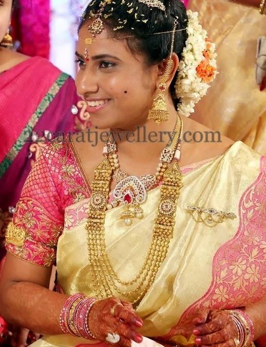 Bvsn Prasad Daughter Wedding Jewellery Designs