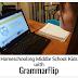 Homeschooling Middle School Kids with GrammarFlip