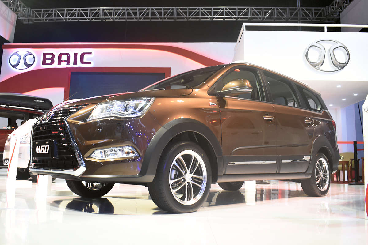 Bayan Auto S New Baic M60 Is A Turbocharged People Mover