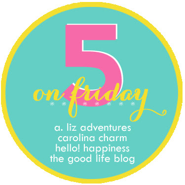 Five on Friday: A Link-up!