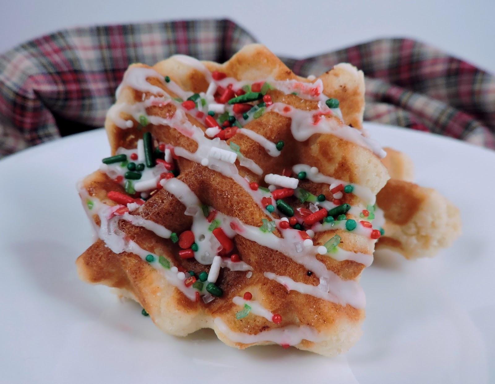 Waffle Iron Cookies