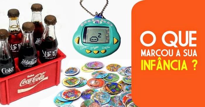 Hora de saber qual objeto ou produto marcou a sua infância. Selecionamos dez sucessos dos anos 80 e 90.