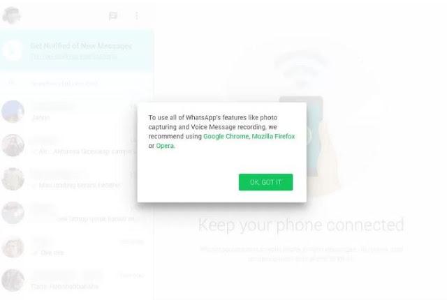 Cara Menggunakan Whatsapp Web dengan Web Browser