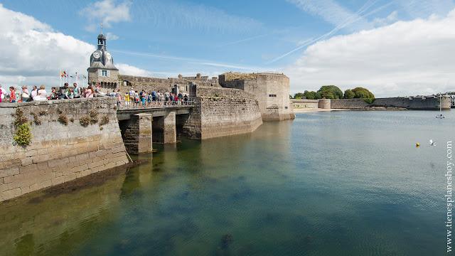 Concarneau lugares bonitos Bretaña Francia