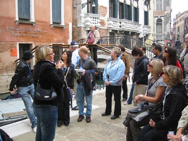Ingressos para o tour a pé por Veneza